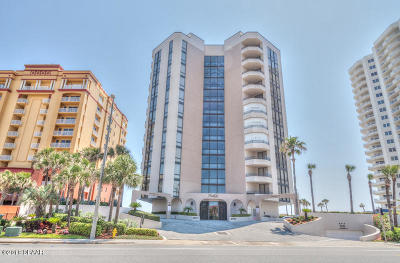 Daytona Beach Shores Condo/Townhouse For Sale: 2917 S Atlantic Avenue #204