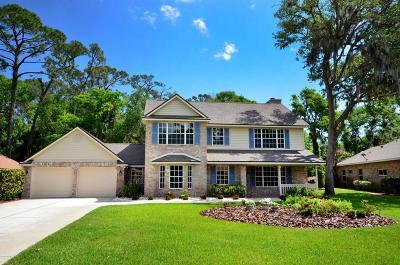 Port Orange Single Family Home For Sale: 407 Oak River Drive
