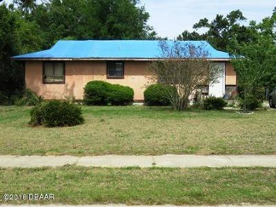 Ormond Beach FL Single Family Home For Sale: $79,000