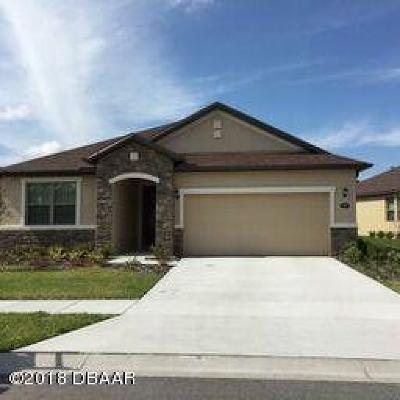 Daytona Beach Single Family Home For Sale: 465 Tuscany Chase Drive