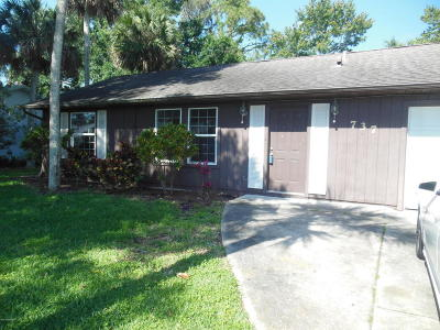 Port Orange Single Family Home For Sale: 737 Horseman Drive