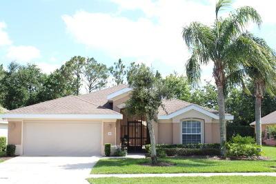 Port Orange Single Family Home For Sale: 1367 Coconut Palm Circle