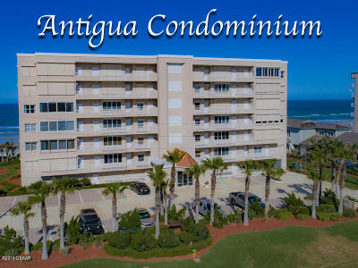 Ponce Inlet, South Daytona, Wilbur-by-the-sea Condo/Townhouse For Sale: 4757 S Atlantic Avenue #602