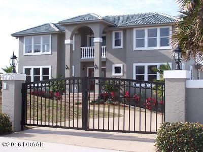 Ponce Inlet, South Daytona, Wilbur-by-the-sea Single Family Home For Sale: 4776 S Atlantic Avenue