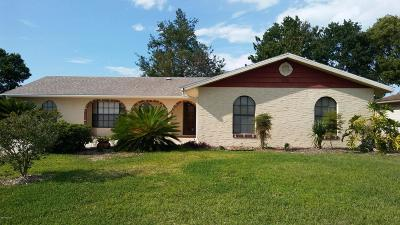 Daytona Beach Single Family Home For Sale: 208 Georgetowne Boulevard