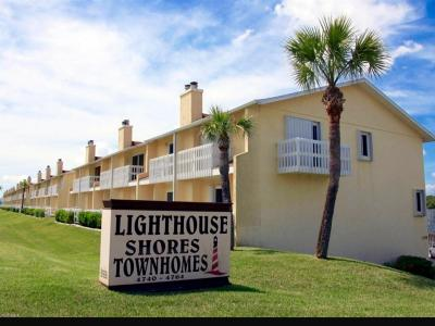Ponce Inlet Condo/Townhouse For Sale: 4740 S Atlantic Avenue #1