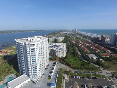 Daytona Beach Shores Condo/Townhouse For Sale: 2 Oceans West Boulevard #806