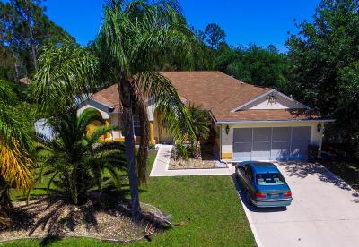 Palm Coast Single Family Home For Sale: 3 Sea Flower Path