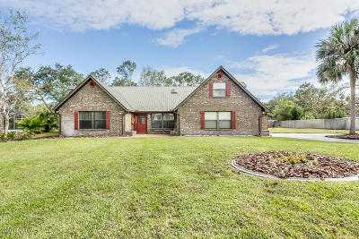 Ormond Beach Single Family Home For Sale: 4007 Cree Drive