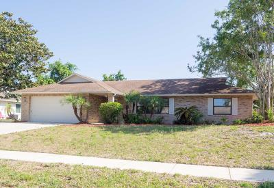Port Orange Single Family Home For Sale: 1406 Tompkins Drive