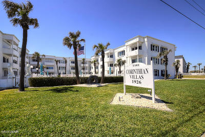 Ormond Beach Condo/Townhouse For Sale: 1926 Ocean Shore Boulevard #3060