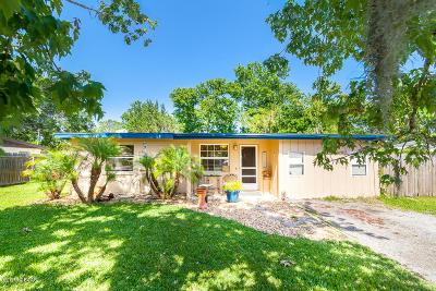 New Smyrna Beach Single Family Home For Sale: 141 Temple Street