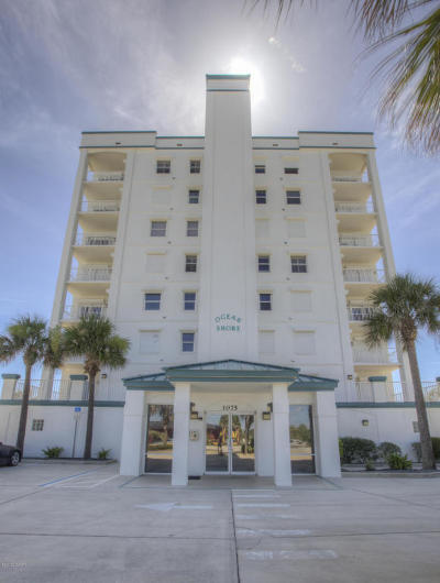 Ormond Beach Condo/Townhouse For Sale: 1075 Ocean Shore Boulevard #502