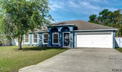 Palm Coast Single Family Home For Sale: 41 Zephyr Lily Trail