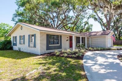 South Daytona Single Family Home For Sale: 2959 Carriage Drive