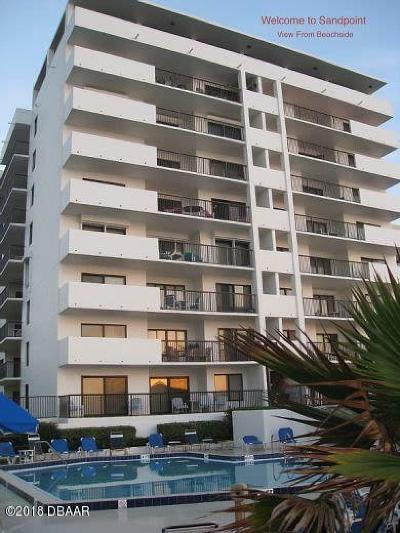 Daytona Beach Condo/Townhouse For Sale: 2615 S Atlantic Avenue #E-6