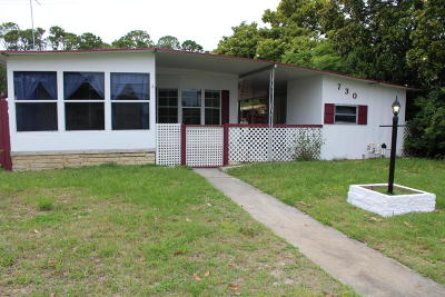 Port Orange Single Family Home For Sale: 730 Barlow Circle
