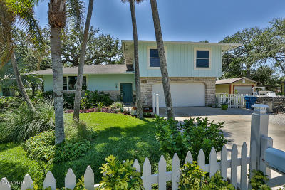 New Smyrna Beach Single Family Home For Sale: 4614 Saxon Drive