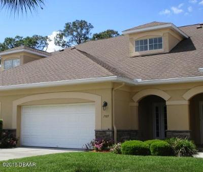 Volusia County Attached For Sale: 1907 Turnbull Lakes Drive