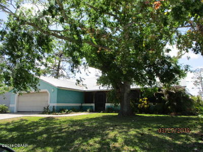 New Smyrna Beach Single Family Home For Sale: 2512 Clarendon Avenue