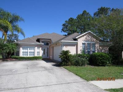 Daytona Beach Single Family Home For Sale: 129 Jubilee Circle