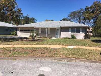 Port Orange Single Family Home For Sale: 172 Quail Court