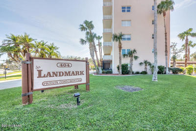 Daytona Beach Condo/Townhouse For Sale: 404 S Beach Street #603