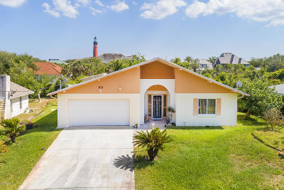 Ponce Inlet Single Family Home For Sale: 82 Jennifer Circle