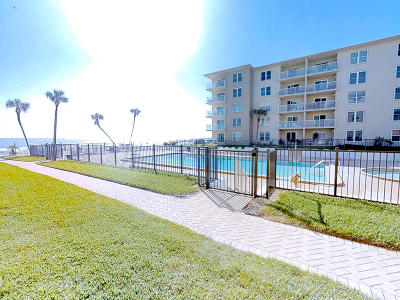 New Smyrna Beach Condo/Townhouse For Sale: 4155 S Atlantic Avenue #103