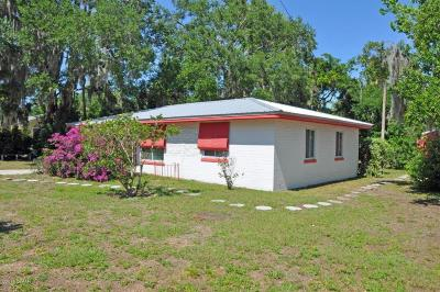 New Smyrna Beach Single Family Home For Sale: 523 Faulkner Street