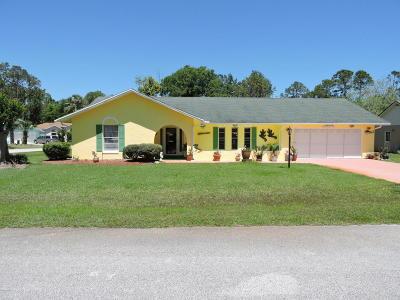 Palm Coast Single Family Home For Sale: 1 Bradley Place