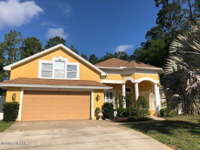 Palm Coast Single Family Home For Sale: 54 Wood Cedar Drive