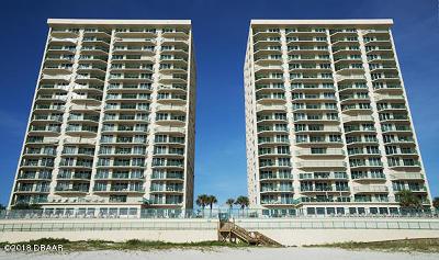 Daytona Beach Shores Condo/Townhouse For Sale: 3315 S Atlantic Avenue #1905