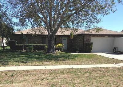 Port Orange Single Family Home For Sale: 840 Chickadee Drive