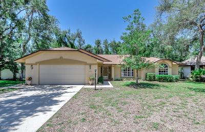Port Orange Single Family Home For Sale: 6184 Yellowstone Drive