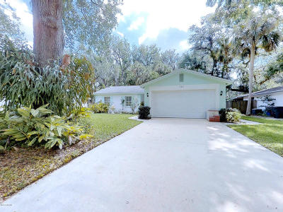 Port Orange Single Family Home For Sale: 124 Brandy Hills Drive
