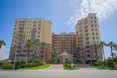 Daytona Beach Condo/Townhouse For Sale: 2515 S Atlantic Avenue #605