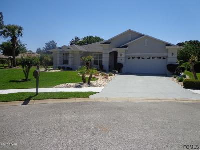 Palm Coast FL Single Family Home For Sale: $305,000