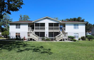 Daytona Beach Condo/Townhouse For Sale: 1600 Big Tree Road #G 7