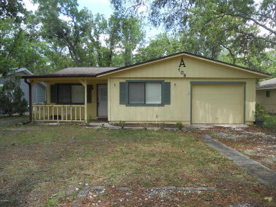 Port Orange Single Family Home For Sale: 108 Hilltop Circle