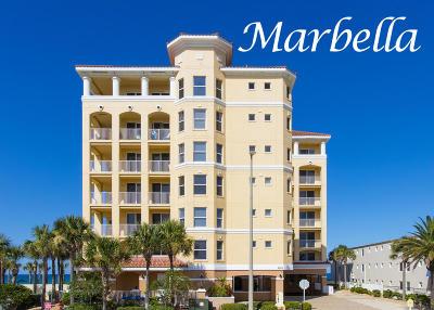 Daytona Beach Shores Condo/Townhouse For Sale: 3343 S Atlantic Avenue #401