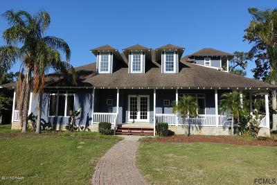 Flagler Beach FL Single Family Home For Sale: $575,000