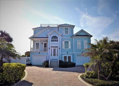 Ponce Inlet, South Daytona, Wilbur-by-the-sea Single Family Home For Sale: 22 S Mar Azul