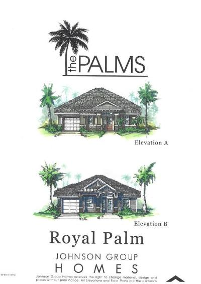 New Smyrna Beach Single Family Home For Sale: King Palm Dr Lot 122 Drive