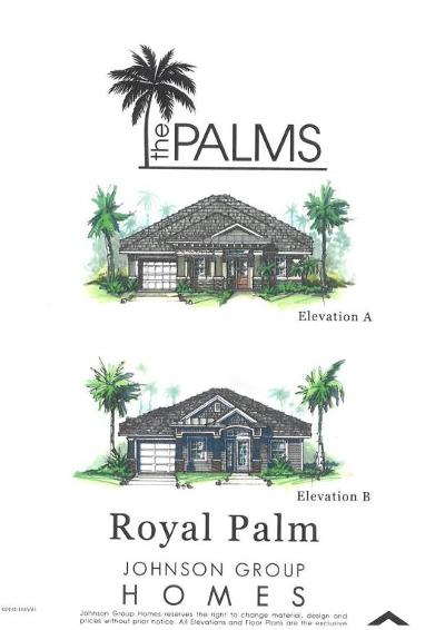 New Smyrna Beach Single Family Home For Sale: King Palm Dr Lot 123