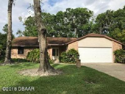 Ormond Beach Single Family Home For Sale: 1550 Poplar Drive