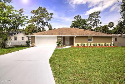 Ormond Beach Single Family Home For Sale: 394 Military Boulevard