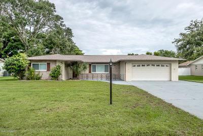 South Daytona Single Family Home For Sale: 816 Wells Drive