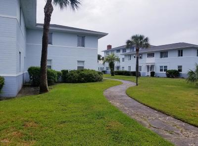 Daytona Beach Condo/Townhouse For Sale: 500 S Beach Street #10