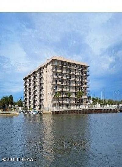 New Smyrna Beach Condo/Townhouse For Sale: 101 N Riverside Drive #709